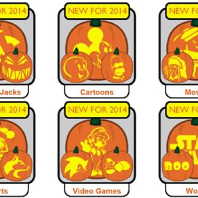 Free Pumpkin Pile Pumpkin Carving Templates