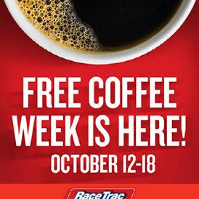 RaceTrac: Free Coffee