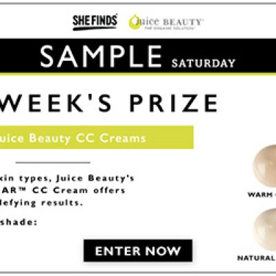 SheFinds Juice Beauty CC Cream Giveaway