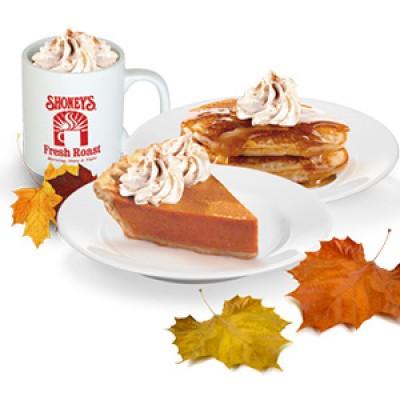 Free Shoney's Pumpkin Spice Pancakes W/ Purchase