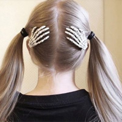 Skeleton Hand Hair Clips Just $2.30 + Free Shipping