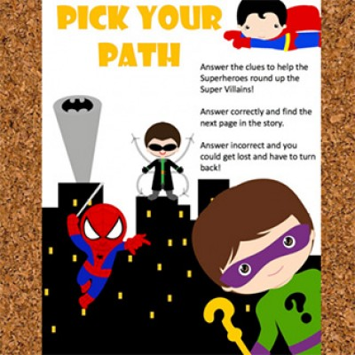 Free Super Hero Math Adventure Game