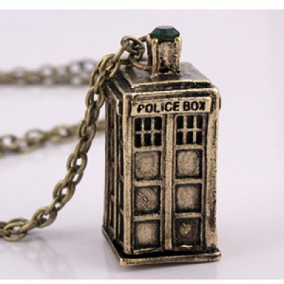 Dr. Who Tardis Pendant Just $2.28 + Free Shipping