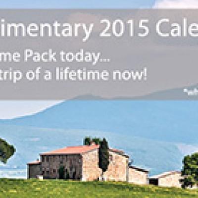 Free 2015 Tauck Calendar