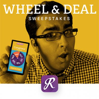Wheel Deal Sweeptakes