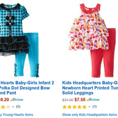 Amazon: Girls Outfits Up To 70% Off