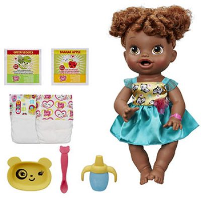 Baby Alive My Baby All Gone African-American Doll Only $24.88 (Reg $42.99)