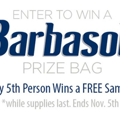 Barbasol Prize Bag Sweepstakes