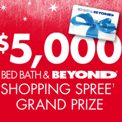 Bed Bath & Beyond Holiday Your Way Sweeps
