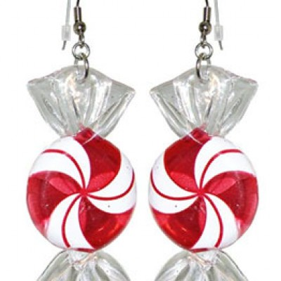 Christmas Candy Earrings On Sale For $8.99 (Reg $25.00)
