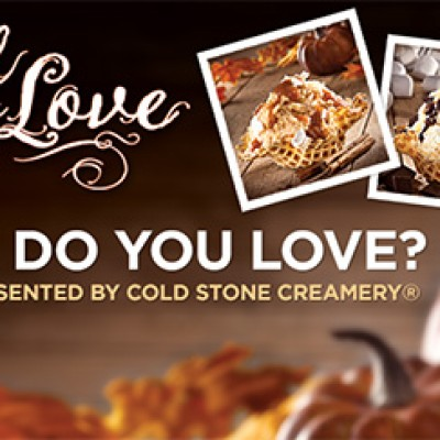 Cold Stone: What Do You Love Giveaway