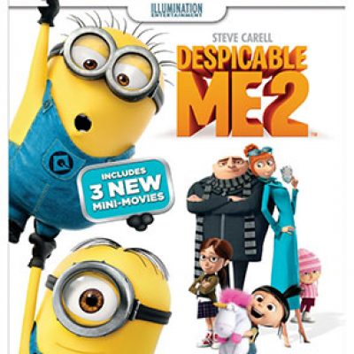 Despicable Me 2 Blu-ray + DVD + Digital HD For $15.99 (Reg $29.98)