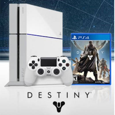 Win A Limited Edition PS4 Destiny Bundle