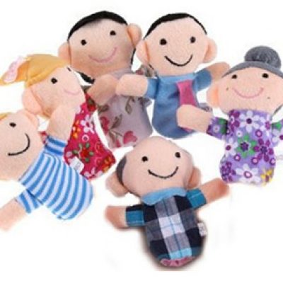 Family Finger Puppets Only $2.42 + Free Shipping