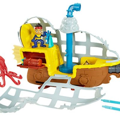 Fisher-Price Disney Jake and The Never Land Pirates Rolling Submarine Bucky Just $17.99