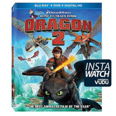 How To Train Your Dragon 2 (Blu-ray + DVD + Digital HD) Only $9.96