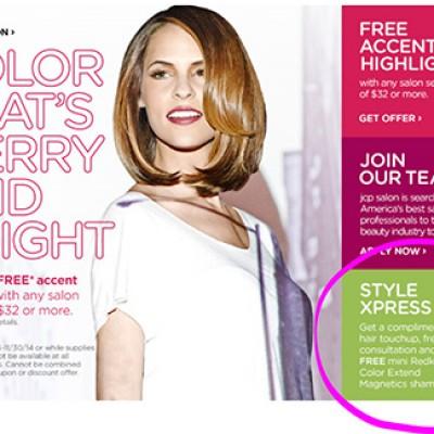 JCPenney: Free Mini Redken Color Extend Magnetics Shampoo