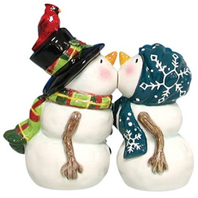 Magnetic Snow People Salt and Pepper Shaker Set Only $10.82 (Reg $35.99)