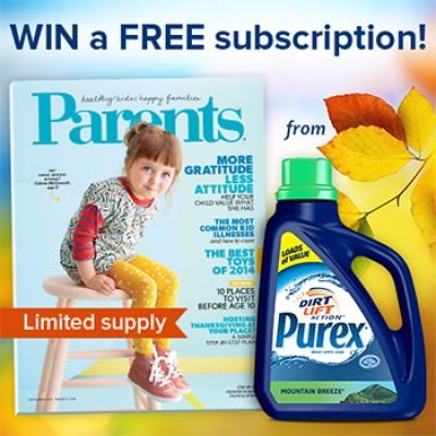 Purex: Win A Parents Magazine Subscription