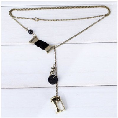 Sewing Machines Designs Chain Necklace Only $3.84 + Free Shipping