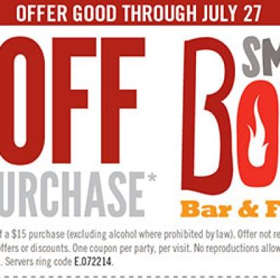 Smokey Bones: $10 Off Any $25 Purchase
