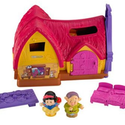 Fisher-Price Little People Disney Princess Snow White Cottage Play Set Just $14.88