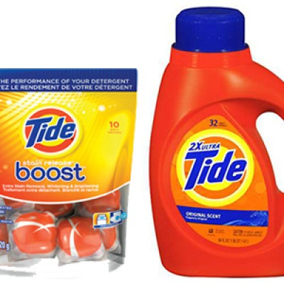 New Tide Detergent And/Or Boost Coupon