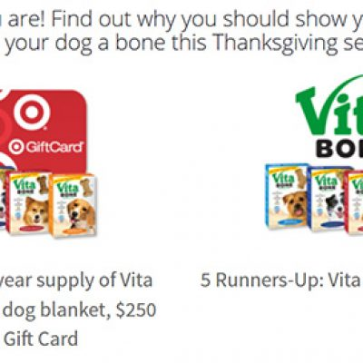 Win A One-Year Supply Of Vita Bone Biscuits