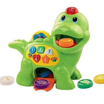VTech Chomp and Count Dino Toy Only $12.59 (Reg $19.99)