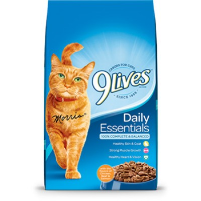 Buy One 9 Lives Cat Food Get Two Free