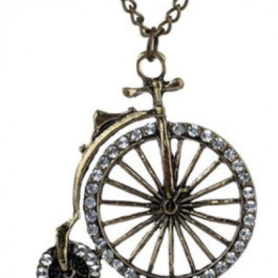 Bronze Bicycle Pendant Just $3.55 Shipped