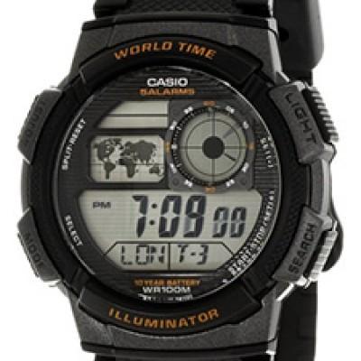 Casio Men's Sport Watch with Black Band Just $17.37 (Reg $35.00)