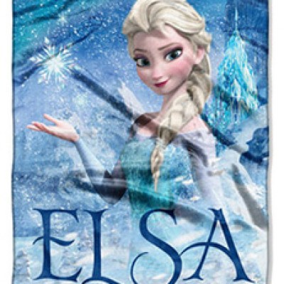 "Walmart: Disney's Frozen Elsa Palace 40"" x 50"" Silk-Touch Throw For Only $9.96"