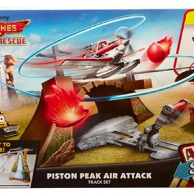 Disney Planes: Fire & Rescue Piston Peak Trackset For $10.00 (Reg $34.99)