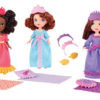 Disney Sofia The First Royal Sleepover Doll 3-Pack Only $12.98 (Reg $27.99)