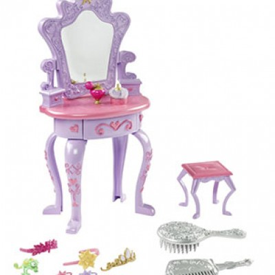 Disney Tangled Featuring Rapunzel Vanity Playset Only $13.11 (Reg $25.99)