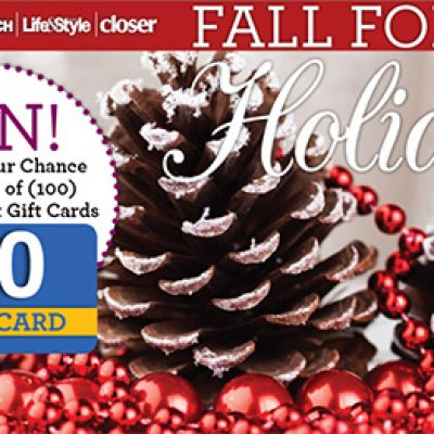 Win One Of 100 Walmart Gift Cards