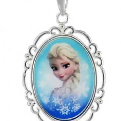 "Disney ""Frozen"" Elsa Pendant & Necklace $12.00 (Reg $22.00)"