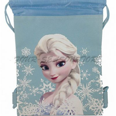 Frozen Queen Elsa Drawstring String Tote Bag Just $6.50 (Reg $19.99)