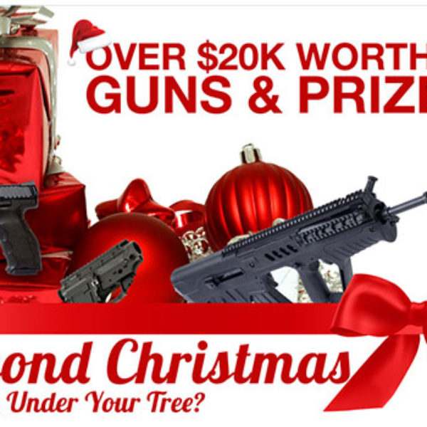Win Over $20K Worth Of Guns & Prizes