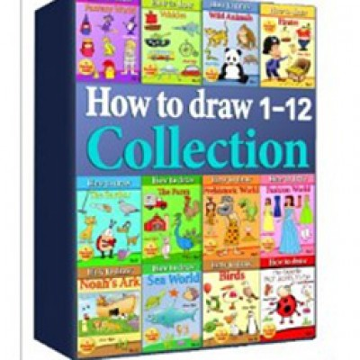 Free Kindle Edition How to Draw Collection 1-12 eBook