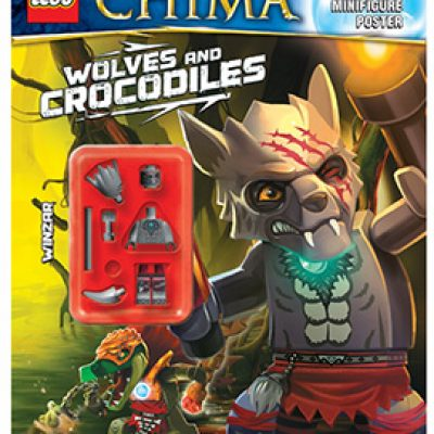 LEGO Legends of Chima: Wolves and Crocodiles Activity Book Only $3.23
