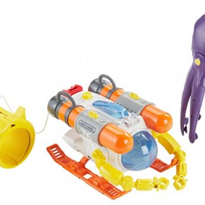 Matchbox Mission: Undersea Squid Sub Playset Just $8.50 (Reg $19.99)