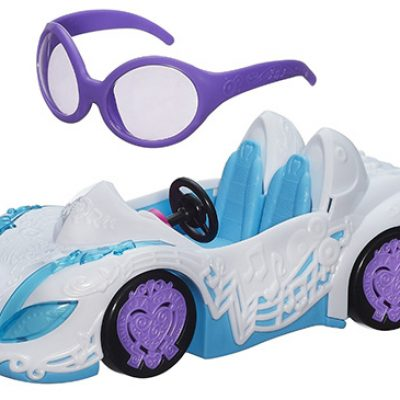 My Little Pony Equestria Girls DJ PON-3 Rockin Convertible Vehicle For $10.70 (Reg $21.99)