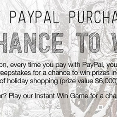 Paypal: Win 10 Years Of Holiday Shopping