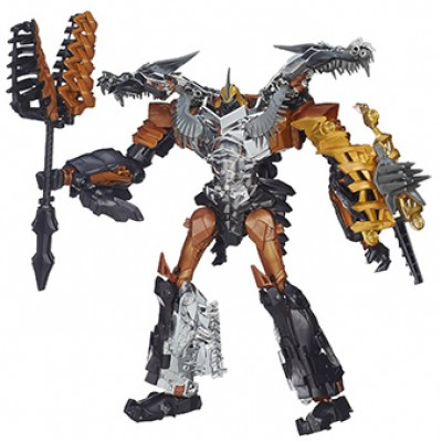 Transformers Age of Extinction Generations Leader Class Grimlock Only $25.00 (Reg $44.99)