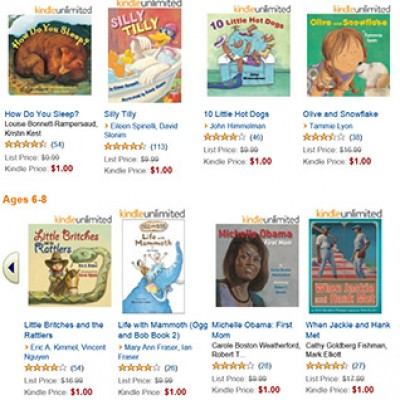 25 Kids' eBooks Only $1 Each