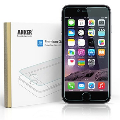 Anker Premium Tempered Glass Screen Protector for iPhone 6 Just $5.99