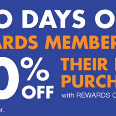 Big Lots Rewards Members: 20% Off Entire Purchase - 2 Days Only