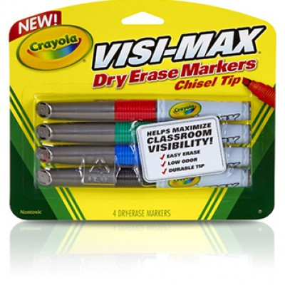 Crayola Dry Erase Markers (4 Count) Only $1.39 ($7.99)
